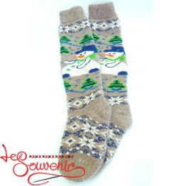 Women's Knitted High Socks ISV-1049