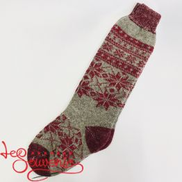Women's Knitted High Socks ISV-1050