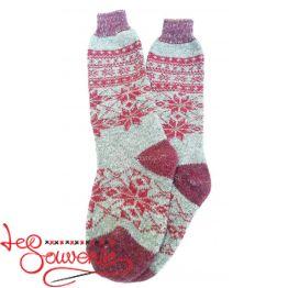 Women's Knitted High Socks ISV-1050