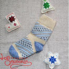 Жіночі в'язані шкарпетки ISV-1060