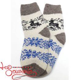 Жіночі в'язані шкарпетки ISV-1061