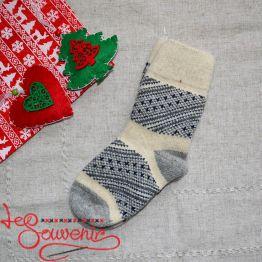 Жіночі в'язані шкарпетки ISV-1062