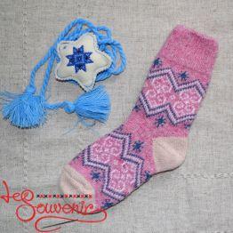 Жіночі в'язані шкарпетки ISV-1063