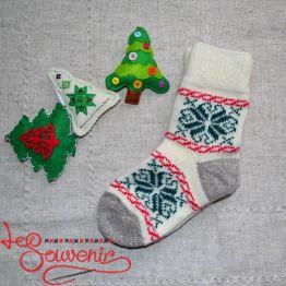 Жіночі в'язані шкарпетки ISV-1064