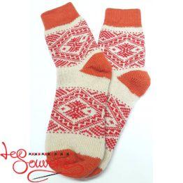 Жіночі в'язані шкарпетки ISV-1065