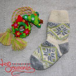 Жіночі в'язані шкарпетки ISV-1068