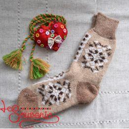 Жіночі в'язані шкарпетки ISV-1070