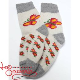 Women's Knitted Socks ISV-1073