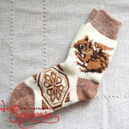 Жіночі в'язані шкарпетки ISV-1074