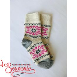 Women's Knitted Socks ISV-1074