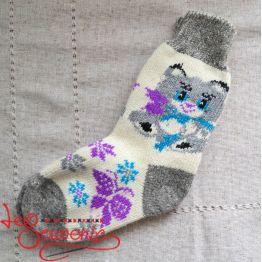 Жіночі в'язані шкарпетки ISV-1076