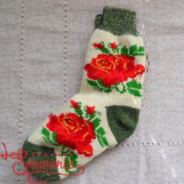 Жіночі в'язані шкарпетки ISV-1077
