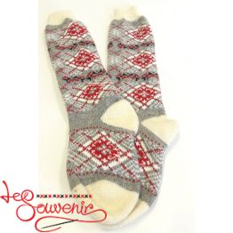 Women's Knitted High Socks ISV-1091