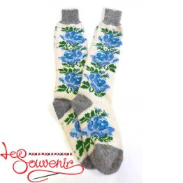 Women's Knitted High Socks ISV-1092