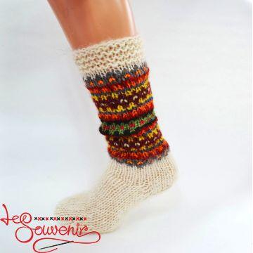 Women's Knitted High Socks ISV-1093