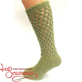 Women's Knitted High Socks ISV-1096