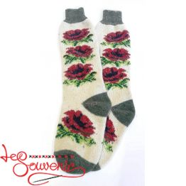 Women's Knitted High Socks ISV-1111