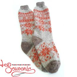 Women's Knitted High Socks ISV-1113