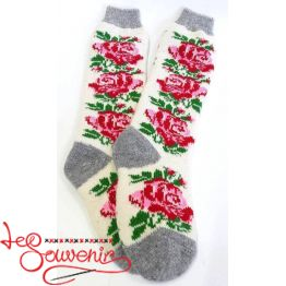 Women's Knitted High Socks ISV-1114