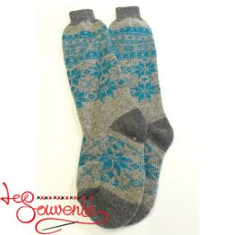Women's Knitted High Socks ISV-1115