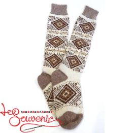 Women's Knitted High Socks ISV-1117