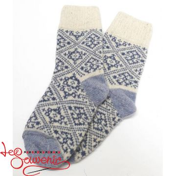 Жіночі в'язані шкарпетки ISV-1128