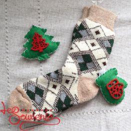 Жіночі в'язані шкарпетки ISV-1072