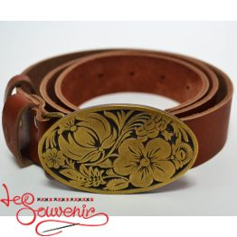 Leather Belt Petrykivka