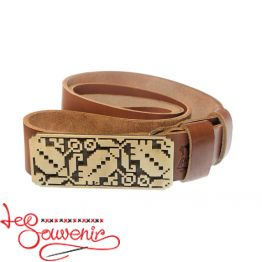 Leather Belt Embroidery IRM-1008