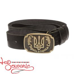 Leather Belt Glory to Ukraine IRM-1009