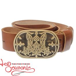 Leather Belt Trident