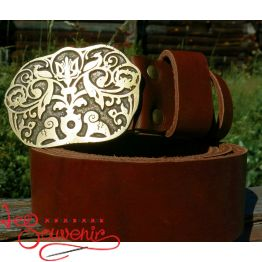 Leather Belt Tree of Life IRM-1017