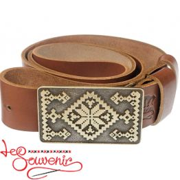 Leather Belt Hutsulsky IRM-1020