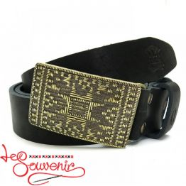 Leather Belt Plakhta IRM-1022