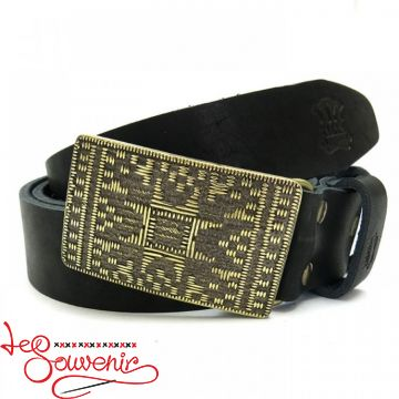 Leather Belt Plakhta IRM-1022
