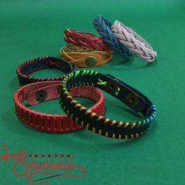 Leather bracelet IRM-1025