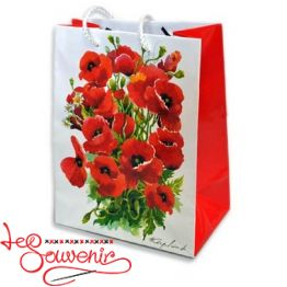 Package Red poppies 32*26*10 ISM-1026