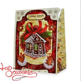 Package Gingerbread House 23*18*10 ISM-1097