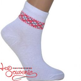 Children's socks with Red Embroidery DSH-1002