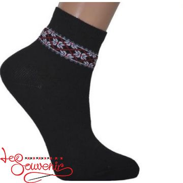 Children's Socks with Red Embroidery DSH-1003