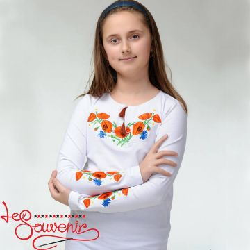 T-Shirt Poppies with Cornflowers DVF-1011