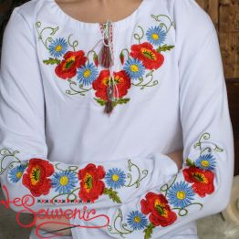 T-Shirt Poppies Cornflowers DVF-1016