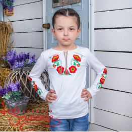 T-Shirt Charming Poppies DVF-1038