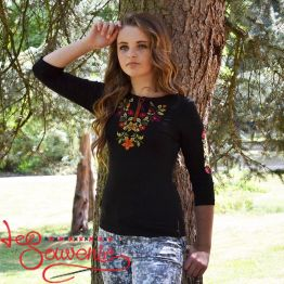 T-shirt Autumn Flowers ZVF-1017