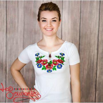 T-shirt Bouquet of Cornflowers ZVF-1018