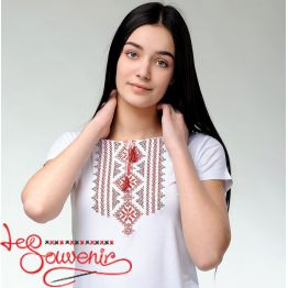 T-shirt Gutsulka red ZVF-1028