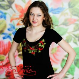 T-shirt Viburnum with Ornament ZVF-1040