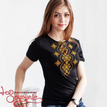 T-shirt Orange Ornament Wave ZVF-1053