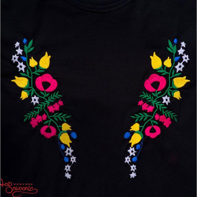 Вишита футболка Квітковий рай ZVF-1069 2baba62600dab