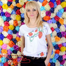T-shirt Patent Poppy ZVF-1072